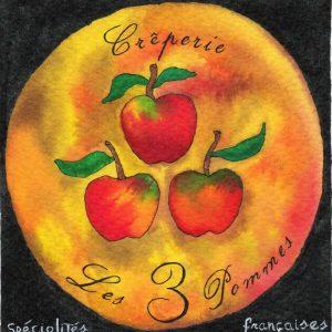 Crêperie les 3 Pommes
