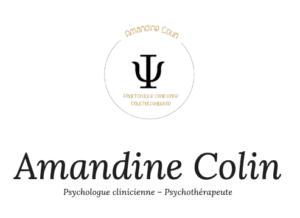 Amandine Colin - Psychologue clinicienne